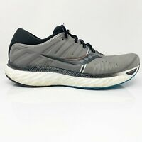 Saucony Mens Hurricane 22 S20544-25 Grey Black Running Shoes Lace Up Size 10.5