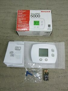 Honeywell TH5110D1006 Focuspro 5000 White Digital Non-Programmable Thermostat