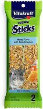 LM VitaKraft Crunch Sticks with Calcium for Chinchillas 3.5 oz