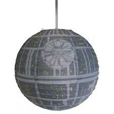 Star Wars Death Star Light Shade Pliant Papier Plafond Abat-jour Official Merch