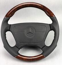 Mercedes Benz Classic r129 w124 w140 w201 w202 w210 Bois Airbag Sport Volant