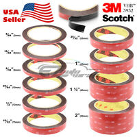 **35 Feet**Genuine 3M VHB #5952 Double-Sided Mounting Acrylic Foam Tape Adhesive