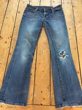 7 For All Mankind Distressed Bootcut Jeans Size 32""