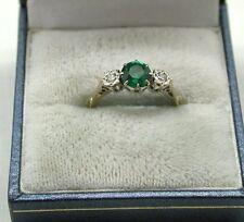 Platinum Three-Stone Fine Rings