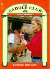 Stable Manners (Saddle Club) By Bonnie Bryant