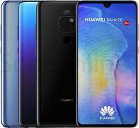 "Huawei Mate 20 HMA-L29 128GB (FACTORY UNLOCKED) 6.53"" Blue, Twilight, Black"