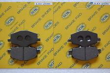 FRONT&REAR BRAKE PADS fit YAMAHA DT 125, 88-04 DT125 DT125R DT125RE