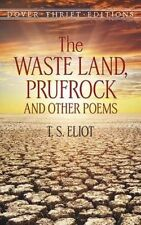 The Waste Land, Prufrock and Other Poems (Dover Thrift Editions)-ExLibrary