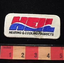 As-Is Vtg HEIL Heating And Cooling Products Advertising Patch 65E6
