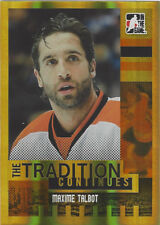 2011-12 ITG Broad Street Boys GOLD #86 Maxime Talbot