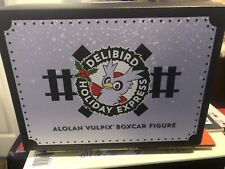 Delibird Holiday Express Alolan Vulpix Boxcar Figure Pokemon Scrafty