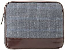 JOSEPH ABBOUD Leather-Tablet Zippered Travel Carry Case-Sleeve-Bag (Was $55 !)