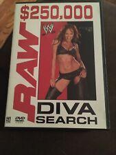 WWE Raw Diva Search DVD