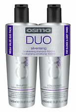 Osmo Silverising Duo Paquet Double 1000ml shampooing et après-shampooing inclus
