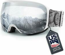 Wildhorn Outfitters Men Women and Youth Crystal Clear Snow and Ski Goggles