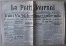 ***  LE PETIT JOURNAL. SAMEDI 29 AOÛT 1914  ***