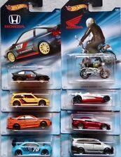 Honda Set  8 pcs (Civic, CRX, S2000, Monkey, Civic SI, ) / Hot Wheels 1:64