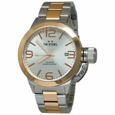 TW Steel CB121 Two Tone 45mm Canteen Watch - 2 Years