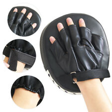Pack of 2 PU Boxing Mitts Training Target Focus Punch Pads and Karate Gloves