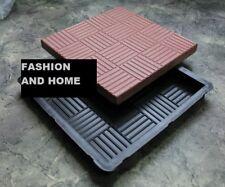 More details for concrete paving garden path slab brick plastic floor tile mould type (lo71.5)
