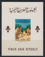 Yemen 1964 ** Bl.29 Pfadfinder Scouts Scouting Lagerfeuer Campfire