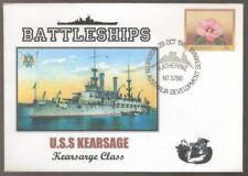 1981 US Battleships USS KEARSAGE Northern Australia Delvelopment Postmark Cover