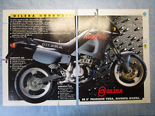 MOTOSPRINT993-PUBBLICITA'/ADVERTISING-1993- GILERA NORDWEST (2 fogli)