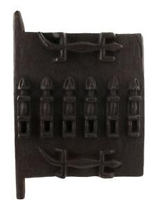 Porte Dogon de Grenier à Mil Mali 40 x 28 Cm Art Africain 1194 ETAG