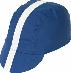 Pace Sportswear Classic Cycling Cap Royal Blue with White Tape�XL