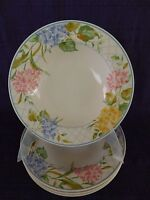 Mikasa Garden Bouquet SOUP BOWL 1 of 4 available have more items to set Intaglio