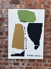 1965 Abstract Expressionist Print By Theodoros Stamos. The Paris Review. Signed
