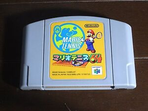 MARIO TENNIS 64  Nintendo 64 N64 JP Japan Import