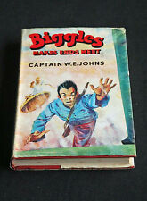 Captain W. E. Johns - Biggles Makes Ends Meet HC/DJ first edition 1st print 1957