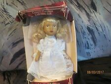 """Genuine Porcelain Collectible Doll Limited Edition 6"""" RARE WEDDING VEIL CORAGE"""