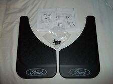 1987 1988 1989 1990 1991 1992 1993 MERCURY COUGAR FORD LOGO FRONT- REAR MUDFLAPS