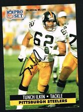Tunch Ilkin #275 signed autograph auto 1991 Pro Set Football Trading Card