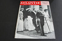 Vintage ATLANTIS JANUARY 1962 GREEK Language Magazine (printed in USA). RARE!