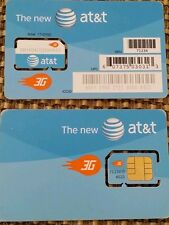 New At&T Prepaid Go Phone 3G Sim Card Ready Activate, Sku 71234. iphone. 2_3_3g