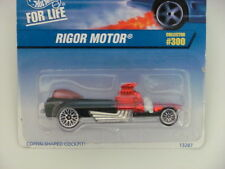 Hot Wheels 1997 Rigor Motore Collect. #300 Black