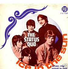 """STATUS QUO """"ICE IN THE SUN"""" ORIG HOLL PS 1968"""