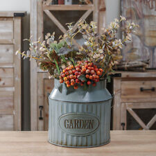 Garden Milk Churn Vase Vintage Shabby Chic Flower Pot Planter Table Decoration