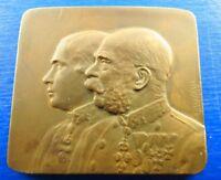 *RARE M* No 90 Austria - Hungarian Empire  Kaiser Franz Joseph medal Bronze