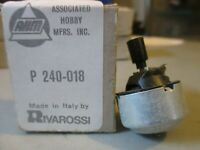 RIVAROSSI HO SCALE MOTOR P-240-018 NOS MINT UNUSED