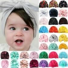 Neugeborenes Kleinkind Mädchen Beanie Hut Baby Hüte Headwrap Turban Mütze Weich