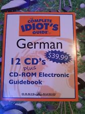 Complete Idiot's Guide To German 1 And 2 12 CDs And Guidebook