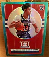Cameron Johnson 2019/20 Chronicles Hometown Heroes GREEN SSP - #565.  RARE CARD