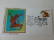 Scooby-Doo Fdc Sc#5299 Colorano Silk Cachet Cover (2018 Issue) [Type #1]