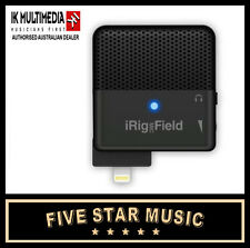 iRig FIELD IK MULTIMEDIA STEREO MICROPHONE FOR IPHONE IPAD DEVICES NEW