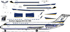 NEW Southern Mc Donnell Douglas DC-9-32 airliner decals 4 Airfix 1/144 kits