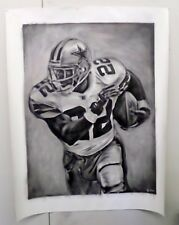 """Emmit Smith oil painting on canvas by artist Joe Blah…. 36"""" x 48"""""""